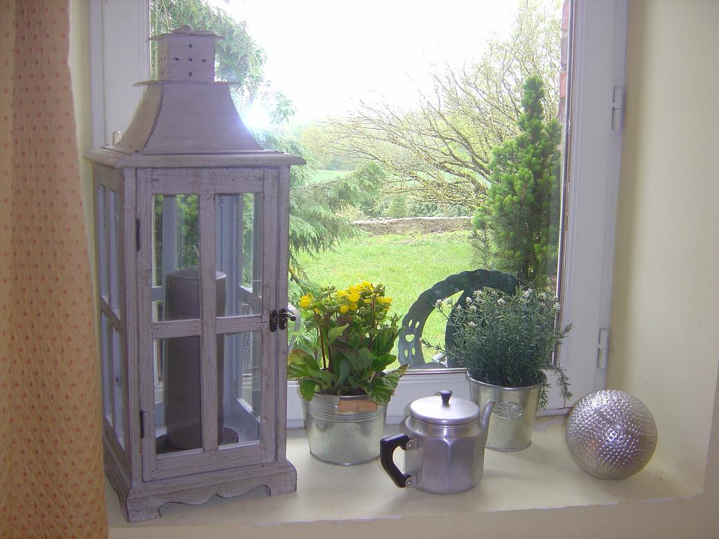 chambre Pressoir vue sur le jardin